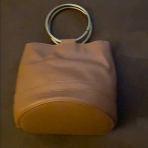 Purse with gold handles (small) new